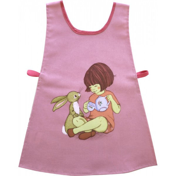 Belle and Boo Pouring Tea - Child Tabard Apron - Prairie Lane Boutique for Kids