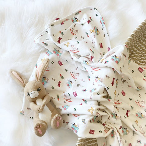 Belle & Boo Blanket and Hat set - Prairie Lane Boutique for Kids
