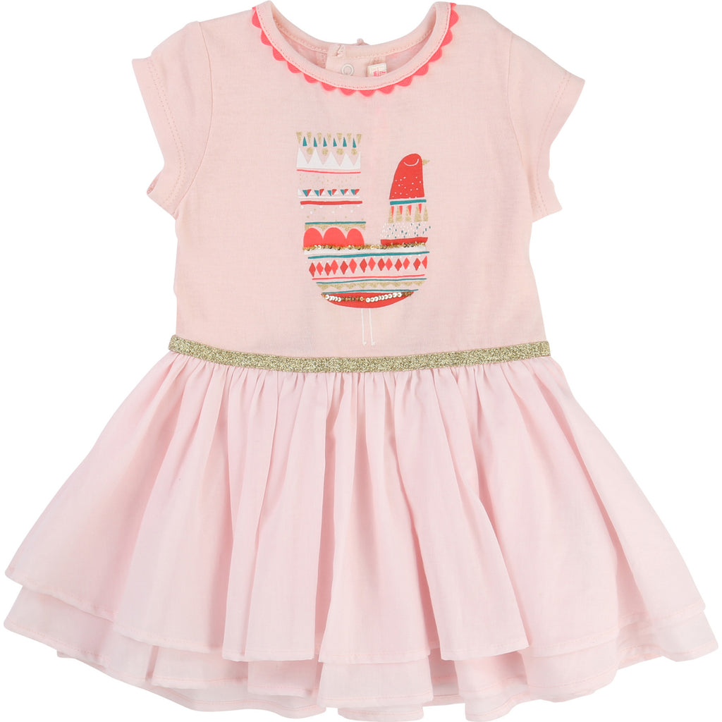 Billieblush Baby Girl Poplin Dress - U02124