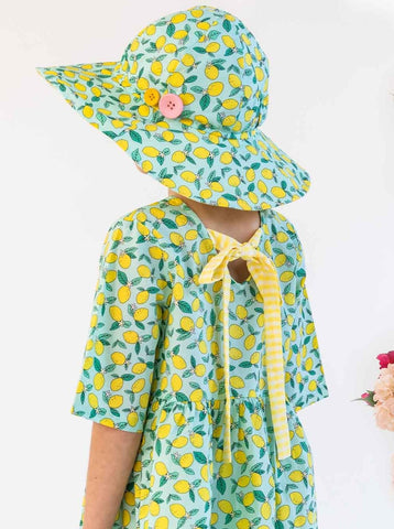 Oobi Margot Lemon Tree Ponytail Hat