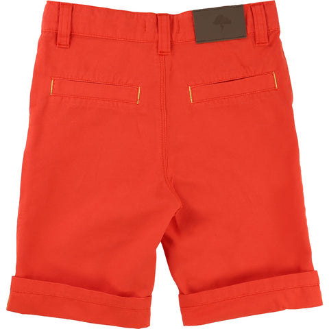 Billybandit Boys Thunderbolt Canvas Shorts Peach - V24044 - Prairie Lane Boutique for Kids