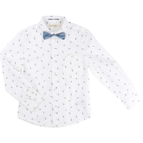 Billybandit Boys Bow Tie Dress Shirt - V25106