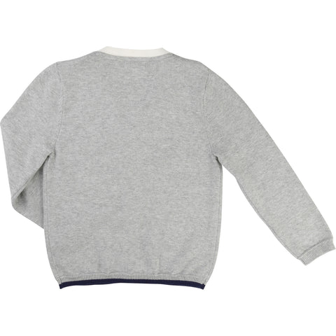 Billybandit Boys Grey Cardigan - V25109 - Prairie Lane Boutique for Kids