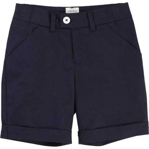 Carrement Beau Boys Twill Bermuda Shorts Navy - Y24026
