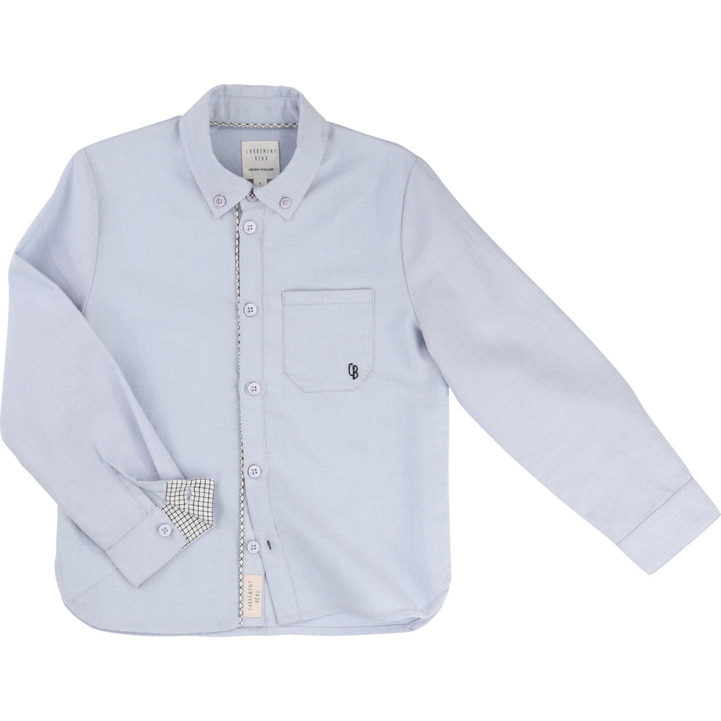 Carrement Beau Boys Oxford Dress Shirt - Y25045 - Prairie Lane Boutique for Kids