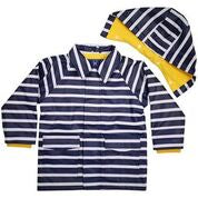 Korango Rainwear Striped Raincoat Navy
