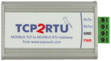 TCP2RTU ModBus TCP to RTU Gateway - ASCII Converter RS485