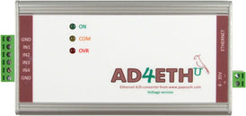 AD4ETH - Analogue measurement module to Ethernet with four inputs for unified signal 0 - 20 mA, 4 - 20 mA respectively.