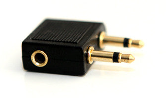 3.5mm Aircraft airline headset adapter