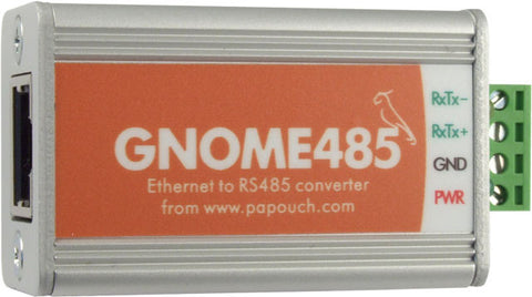 GNOME485 Ethernet to RS485 converter from Equals Greater Than