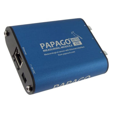 Papago Meteo ETH: Industrial weather station + Temperature Humidity Sensor + Anemometer (wind sensor)