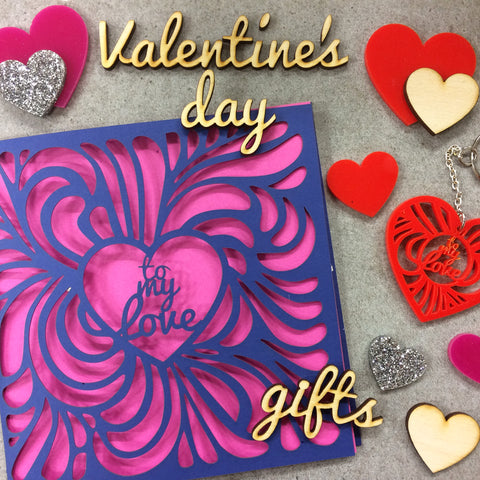 Workshop: Laser-cut Valentine's Day gifts