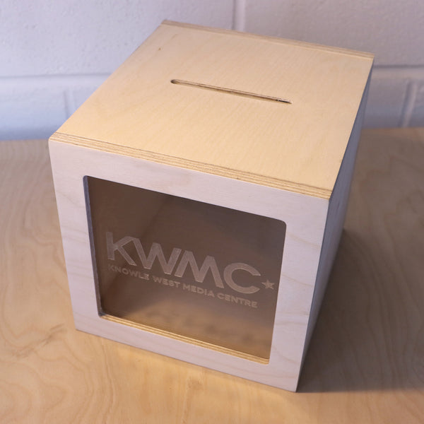 Personalised Donation Box