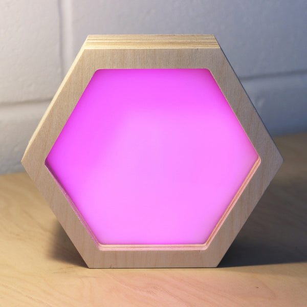 Hexagonal Light Box