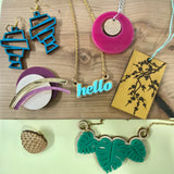 Workshop: Laser-cut Jewellery