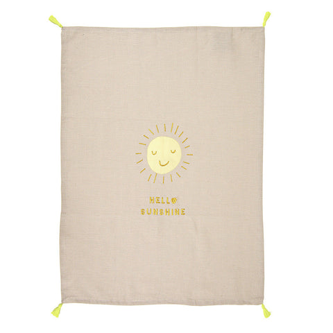Hello Sunshine Tea Towel