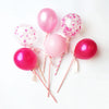 Honey Balloon Cake Toppers