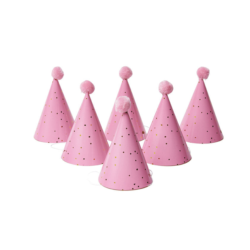 Speckle Party Hats