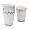 Party Porcelain Blue Cups