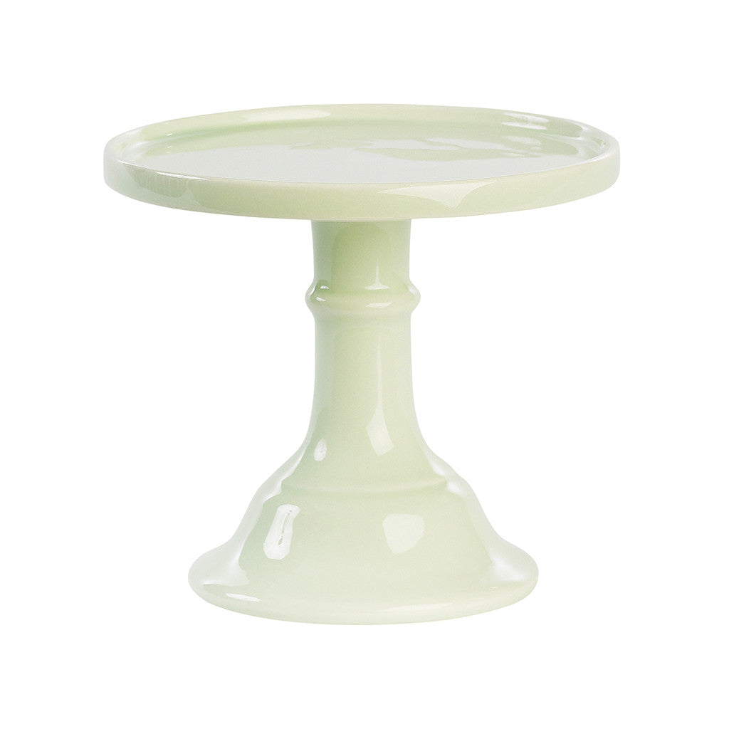 Pastel Green Ceramic Pedestal Cake Stand (Small)