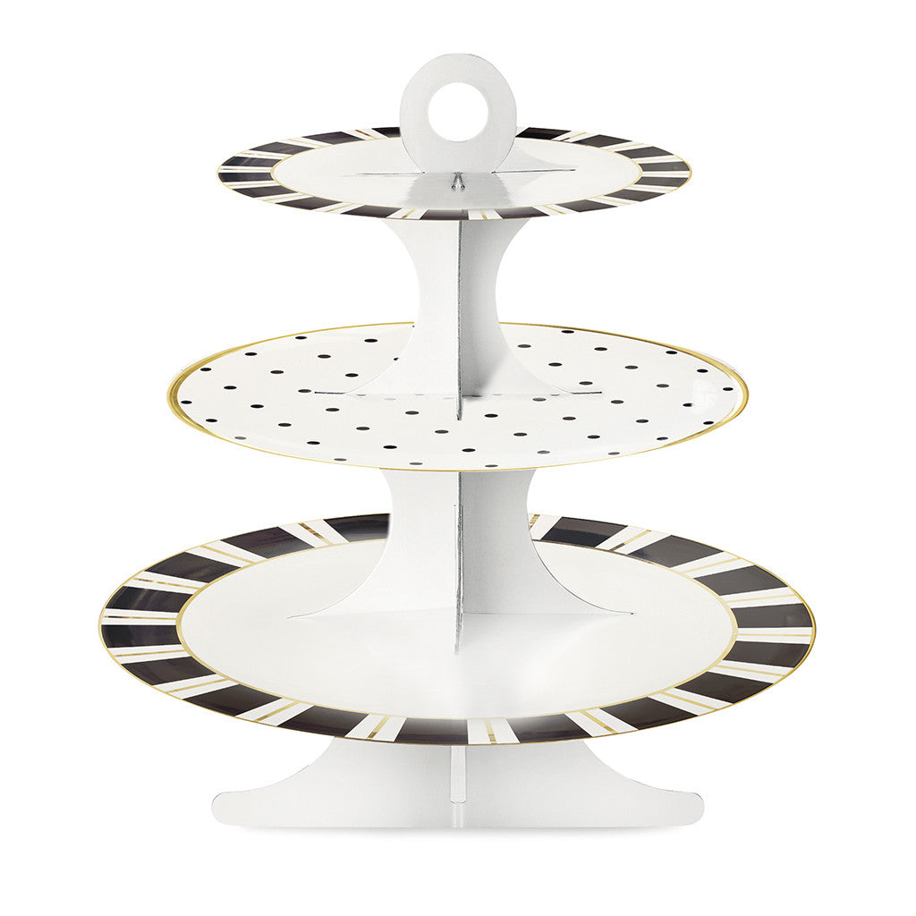 Stripes & Dots Dessert Stand