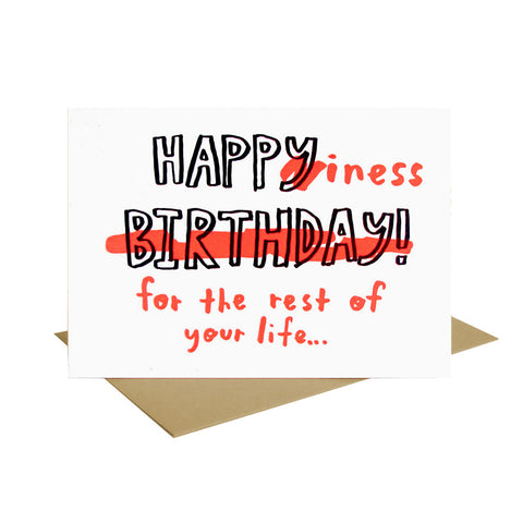 Happy Birthday Happiness Card