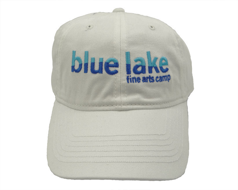 Blue Lake Ball Cap - White