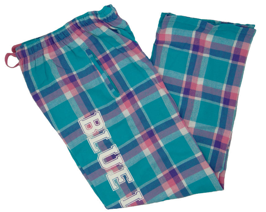Pants - Flannel Pajama Pants (Pacific Surf)
