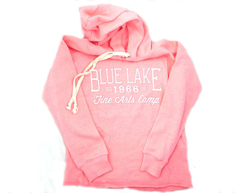 """Pavlova"" - Angel Fleece Halo Pullover (Electric Pink)"