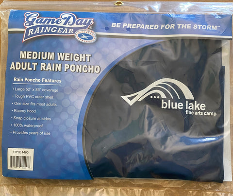 Rain Gear - Medium Weight Billboard Poncho