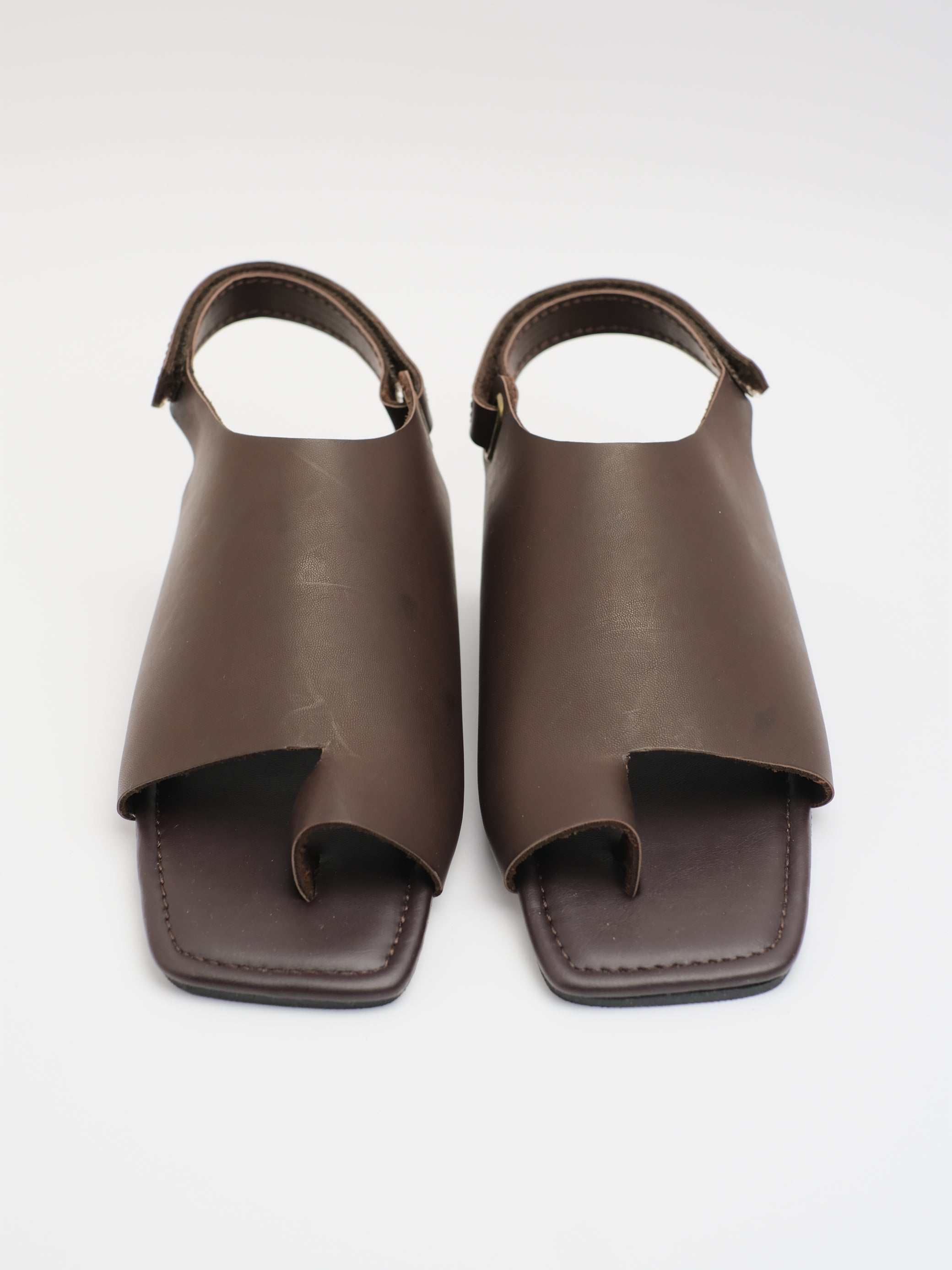 UNISEX: SOL COVERED SANDAL (BROWN)