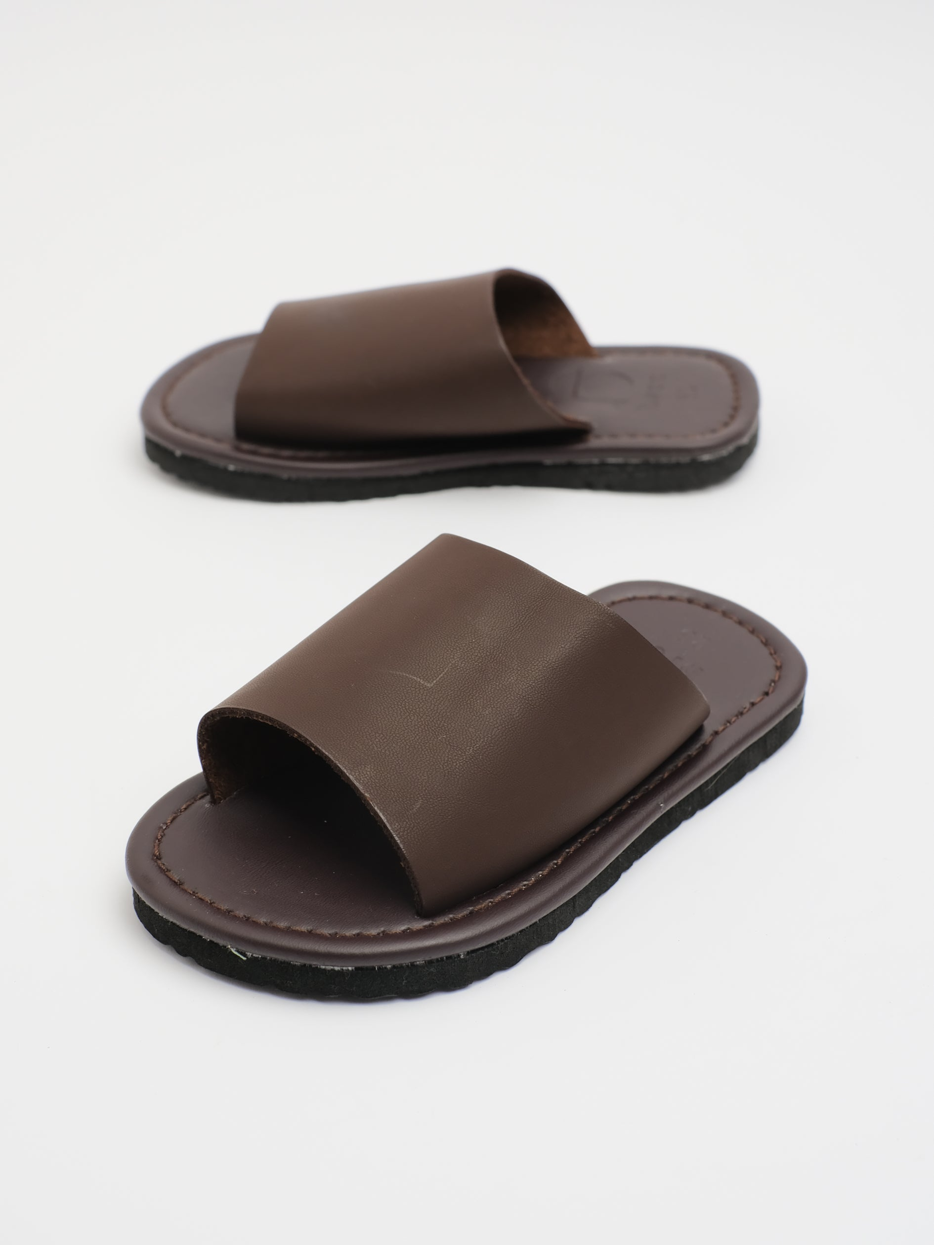 KIDS: JUD SLIDER (BROWN)