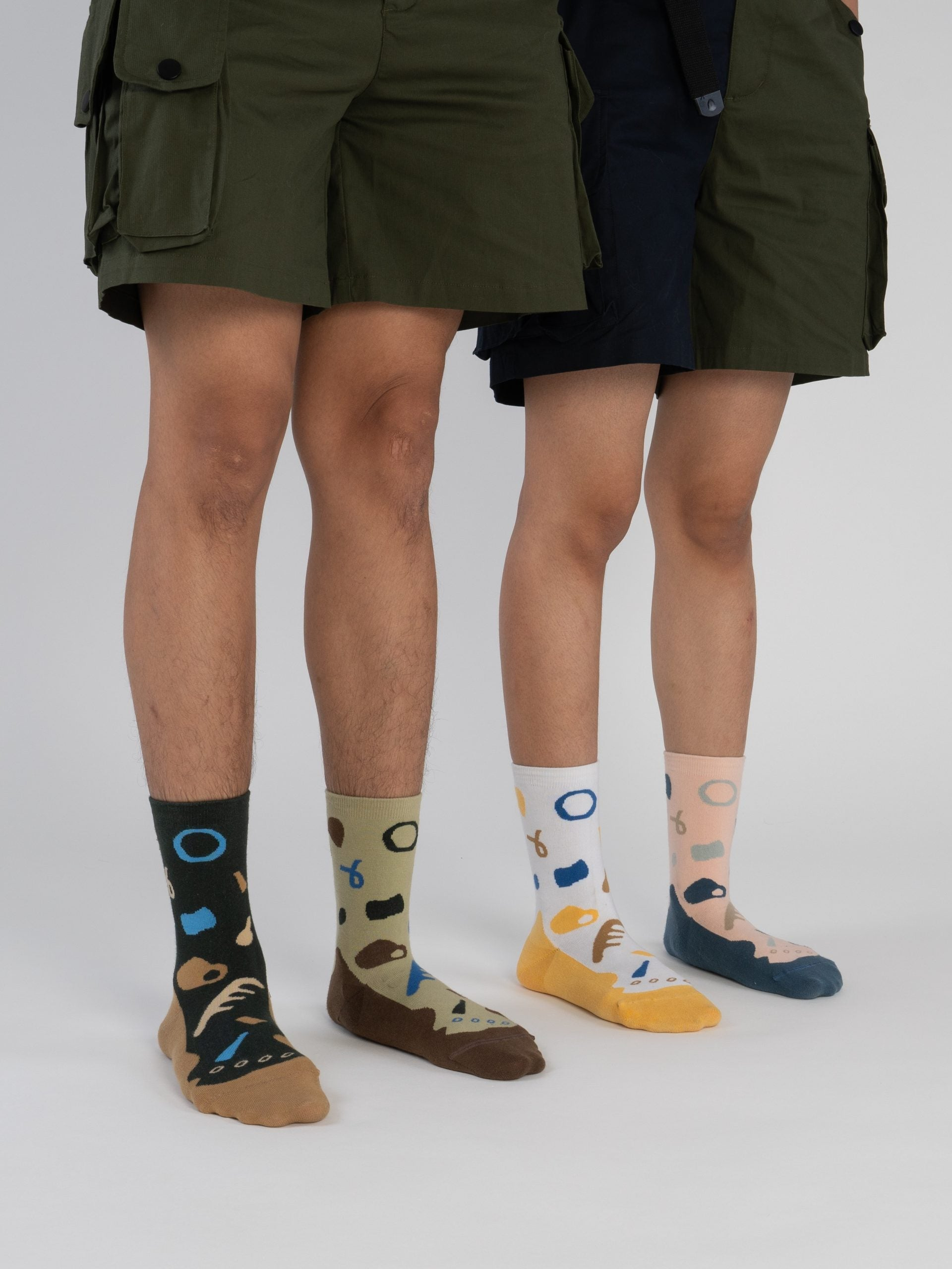 Bumi : Plant - Light Brown Socks