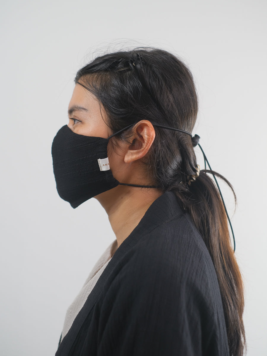 Crinkled Loop Mask Set
