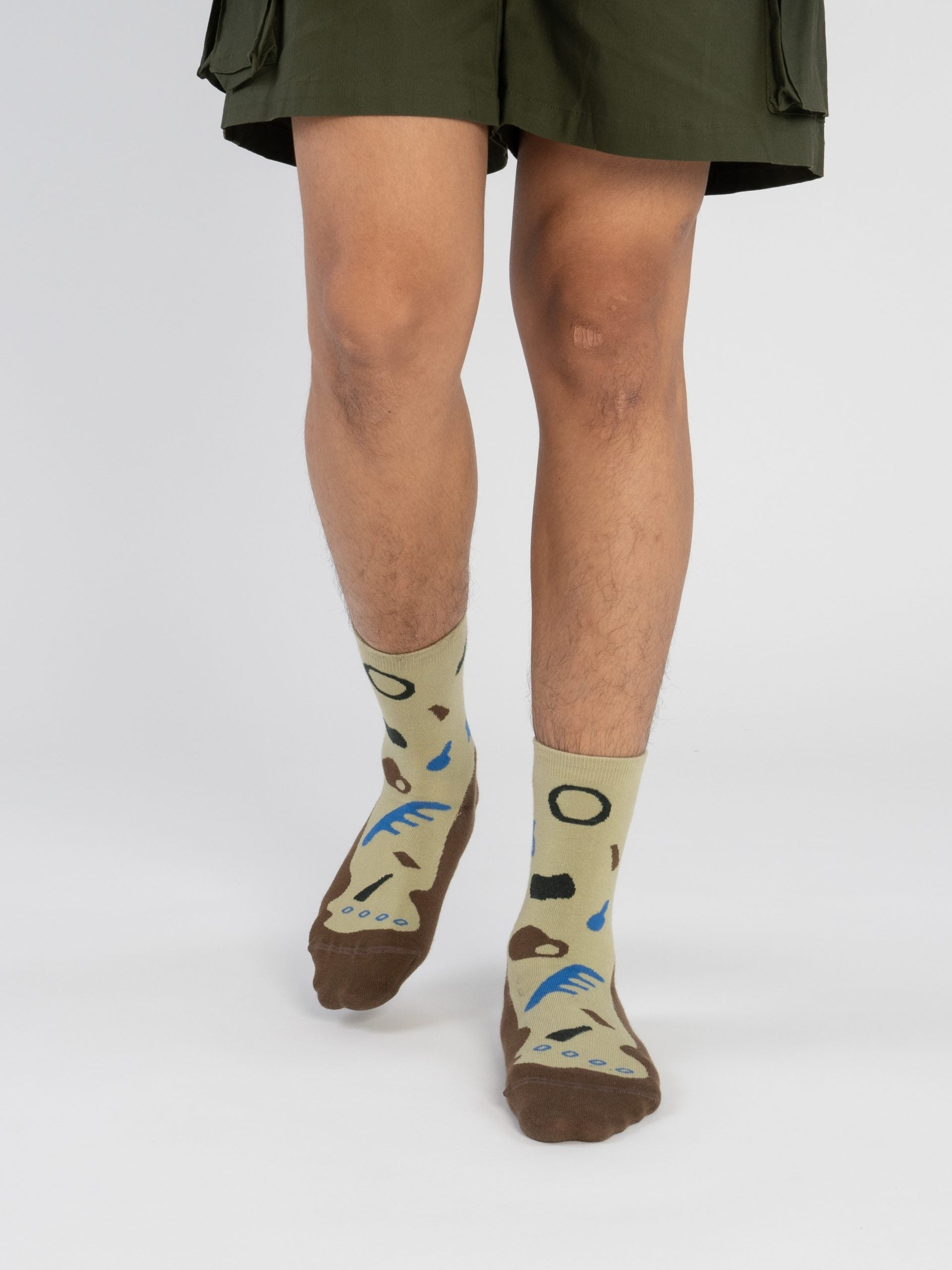 Bumi : Plant - Brown Socks