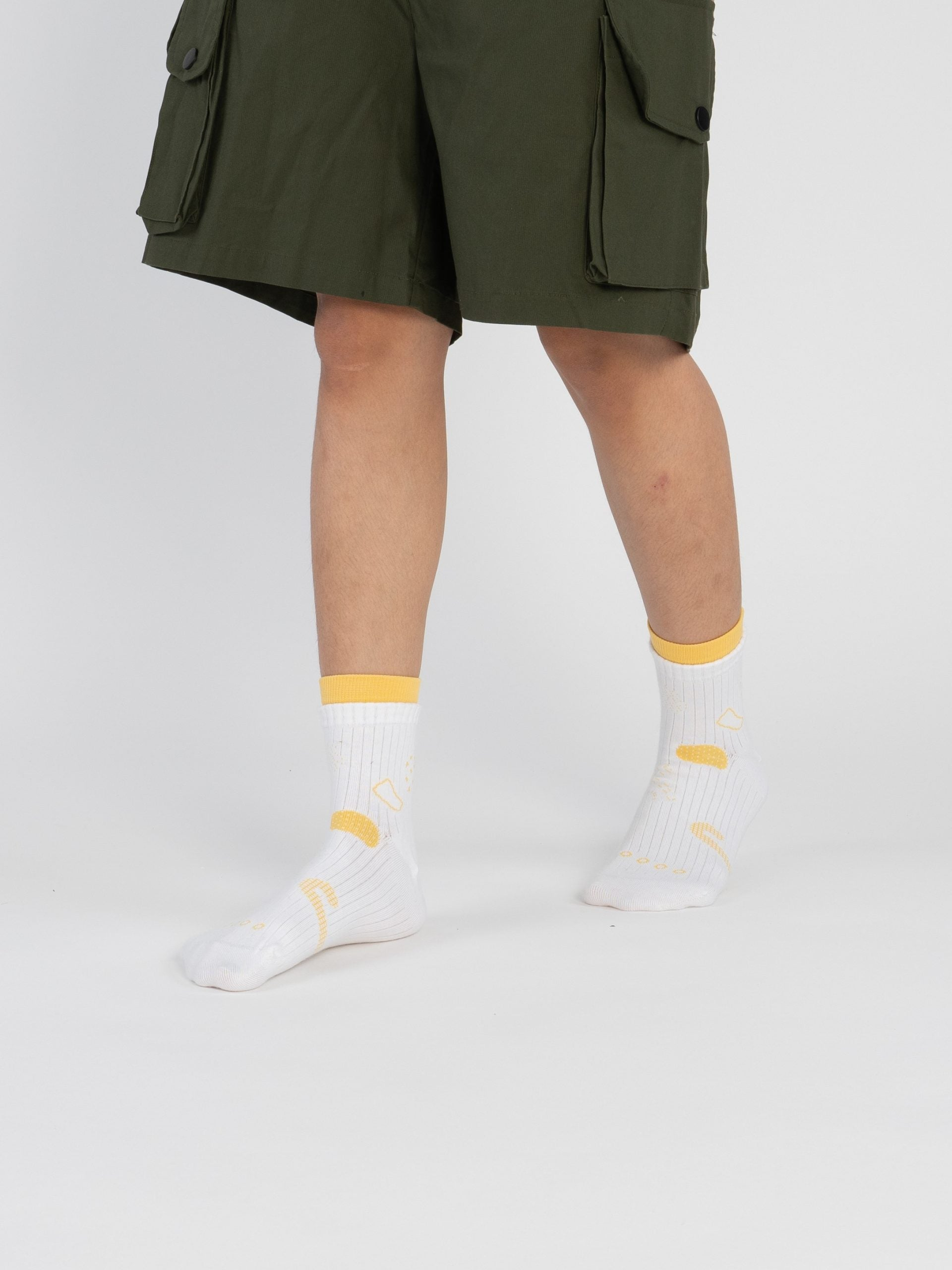 Bumi : Grow - Off White Socks