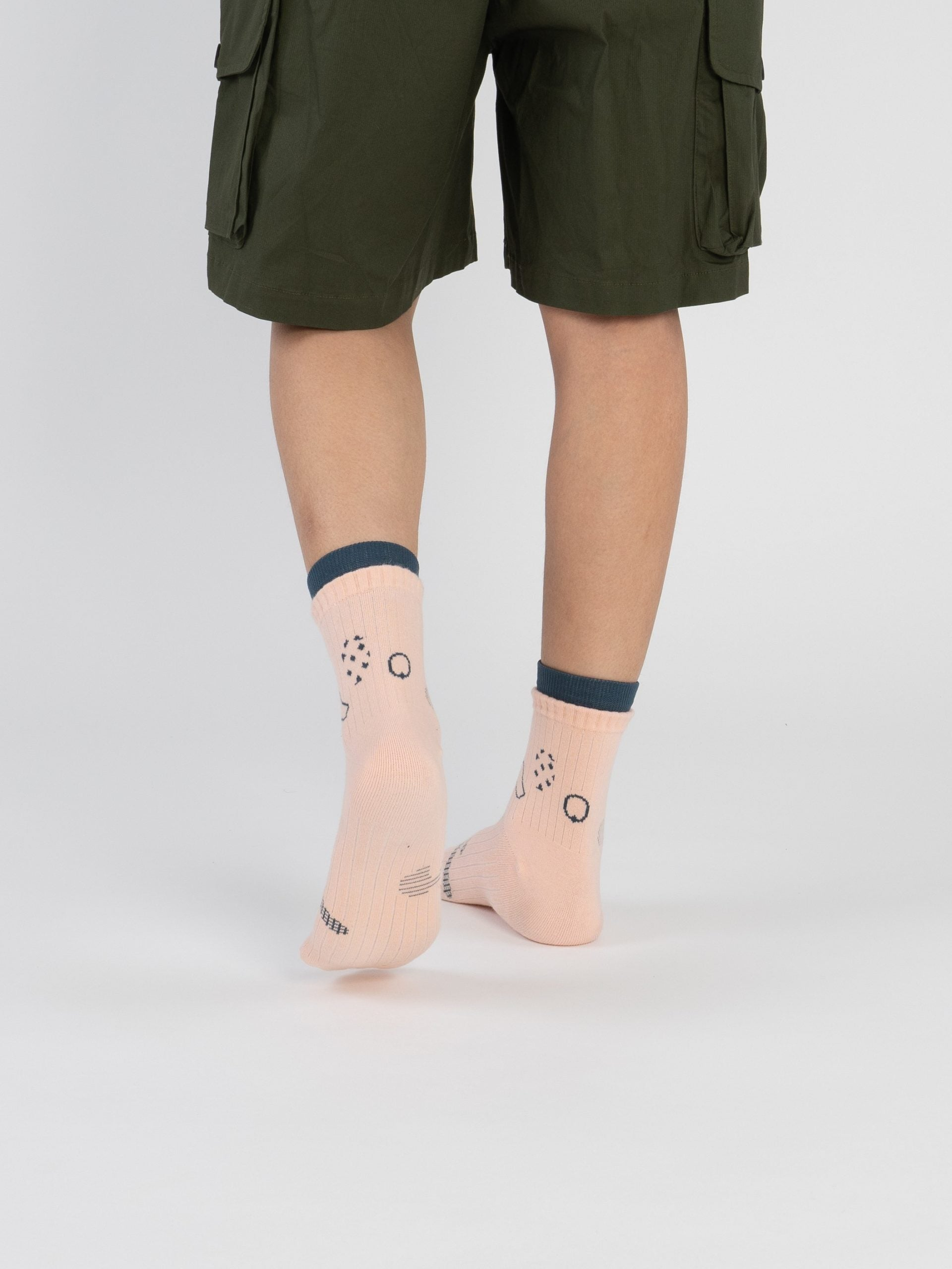 Bumi : Grow - Tropical Peach Socks