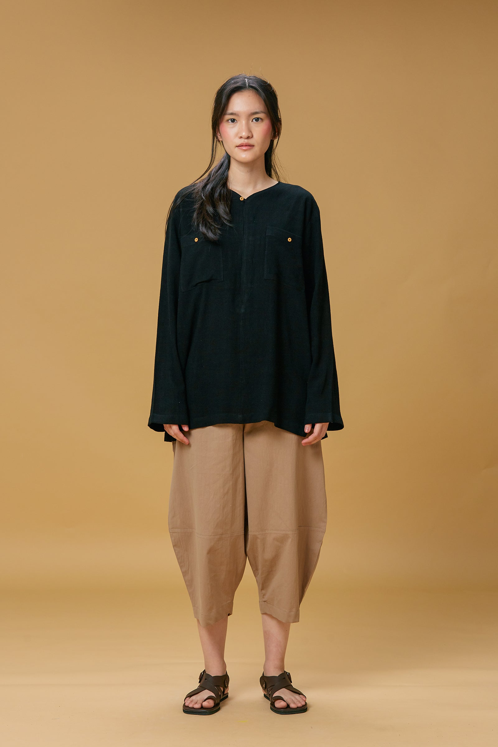 Unisex: Tatap Cocoon Pants (Brown)