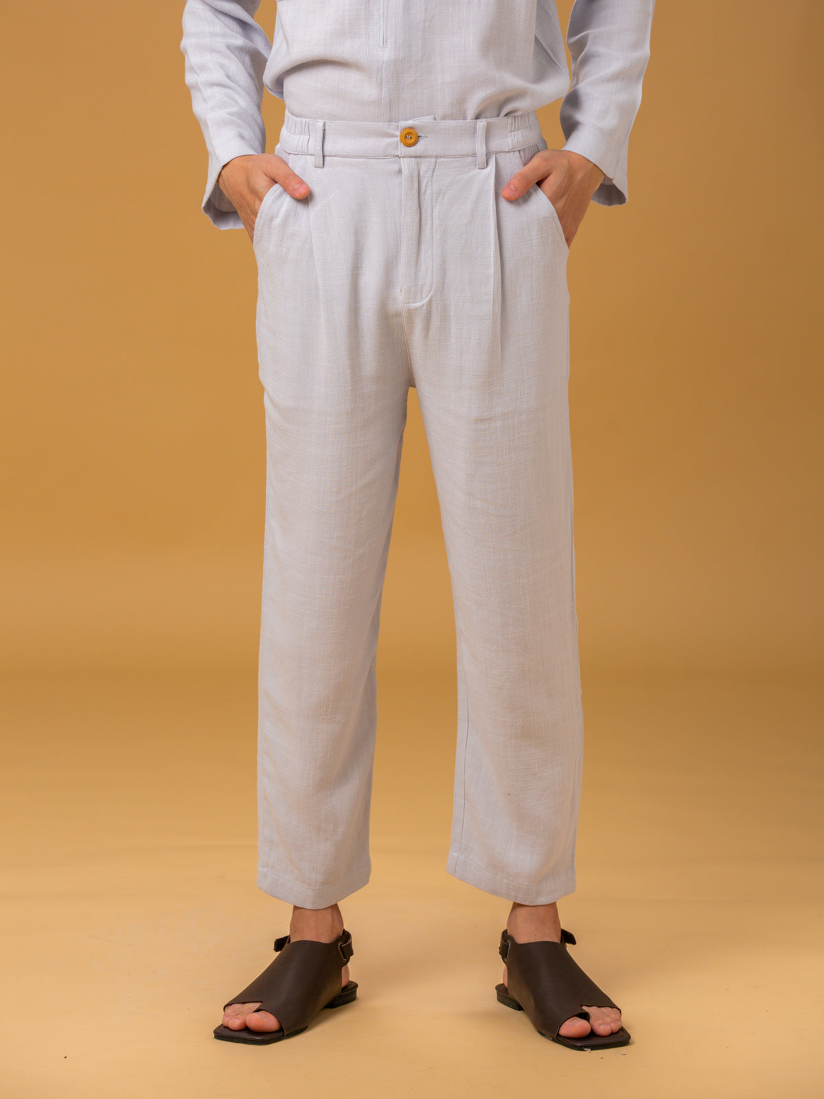 Unisex: Desir Tapered Pants (Sky Blue)