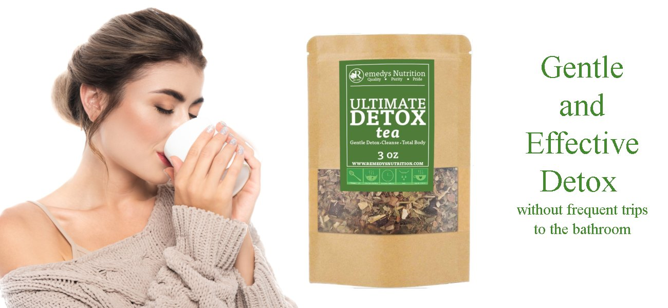 Gentle and Effective Detox without frequent trips to the bathroom