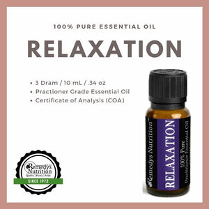 Relaxation Essential Oil 3 Dram / 10 mL