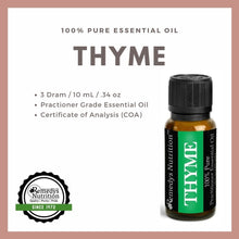Load image into Gallery viewer, Thyme Essential Oil 3 Dram / 10 mL