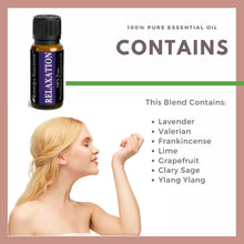 Load image into Gallery viewer, Relaxation Essential Oil 3 Dram / 10 mL