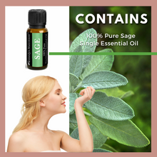 Load image into Gallery viewer, Sage Essential Oil 3 Dram / 10 mL