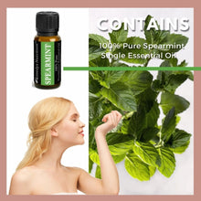 Load image into Gallery viewer, Spearmint Essential Oil 3 Dram / 10 mL