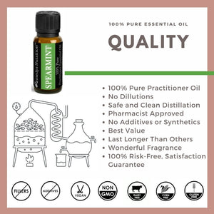 Spearmint Essential Oil 3 Dram / 10 mL