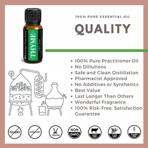 Thyme Essential Oil 3 Dram / 10 mL
