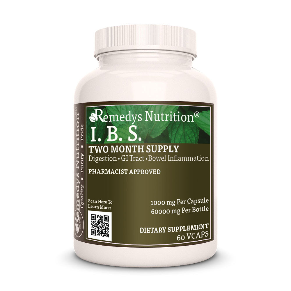 Remedy's Nutrition® I.B.S Capsules