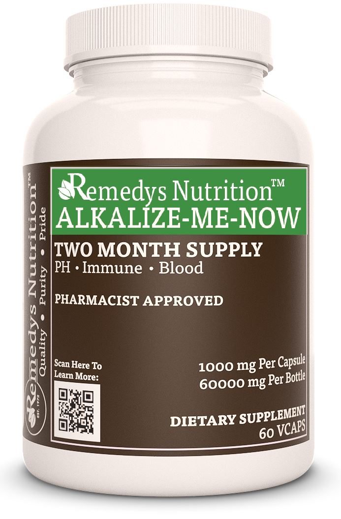 Alkalize Me Now™ Supplement Remedys Nutrition
