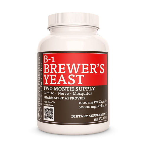 B-1 Brewers Yeast Supplement Remedys Nutrition